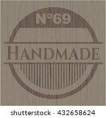 handmade wood signboards | Shutterstock .eps vector #432658624