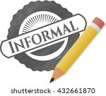 informal pencil effect | Shutterstock .eps vector #432661870