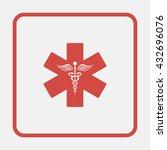 emergency medicine symbol | Shutterstock .eps vector #432696076