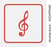 illustration of a clef. | Shutterstock .eps vector #432699460