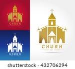 template logo church as the... | Shutterstock .eps vector #432706294