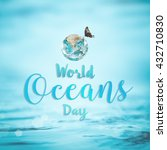 world ocean day june 8... | Shutterstock . vector #432710830