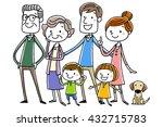 illustration material  smile... | Shutterstock .eps vector #432715783