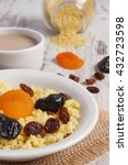cooked millet groats with...   Shutterstock . vector #432723598