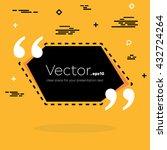 abstract concept vector empty... | Shutterstock .eps vector #432724264