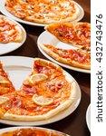 tasty pizza | Shutterstock . vector #432743476