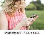 portreit of attractive young...   Shutterstock . vector #432755518