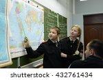 moscow  russia   october 24... | Shutterstock . vector #432761434