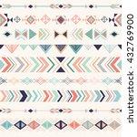 aztec pattern. seamless pattern ... | Shutterstock .eps vector #432769900