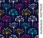 inflorescence dill. vector... | Shutterstock .eps vector #432778120