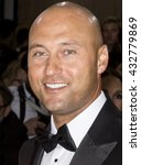 Small photo of New York City, USA - May 2, 2016: Derek Jeter attends the Manus x Machina Fashion in an Age of Technology Costume Institute Gala at the Metropolitan Museum of Art