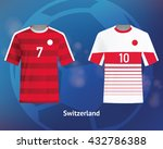 color soccer t shirts of... | Shutterstock .eps vector #432786388