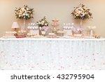 stylish beautiful luxury sweet... | Shutterstock . vector #432795904