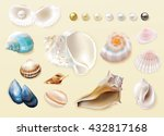 gorgeous colorful collection of ...   Shutterstock .eps vector #432817168