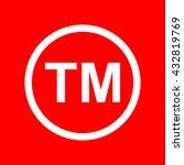 trade mark sign | Shutterstock . vector #432819769