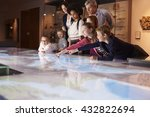 pupils on school field trip to... | Shutterstock . vector #432822694