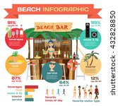 vector infographic set flat... | Shutterstock .eps vector #432828850