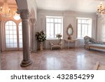 luxury light interior of... | Shutterstock . vector #432854299