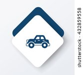 car icon | Shutterstock .eps vector #432859558