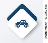 car icon | Shutterstock .eps vector #432859558