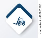 truck icon | Shutterstock .eps vector #432859738