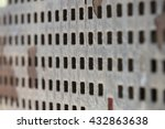urban metal surface | Shutterstock . vector #432863638