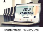 mobile computer display with...   Shutterstock . vector #432897298