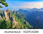 huangshan  yellow mountains   a ... | Shutterstock . vector #432914284