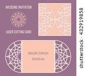 diy laser cutting vector... | Shutterstock .eps vector #432919858