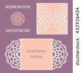 diy laser cutting vector... | Shutterstock .eps vector #432926434