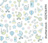 Seamless Pattern For New Born...