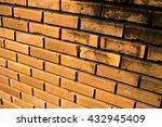 brick wall in pattern | Shutterstock . vector #432945409
