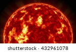 sun. global warming 3d... | Shutterstock . vector #432961078