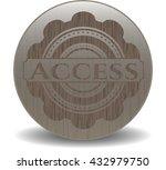 access wooden signboards | Shutterstock .eps vector #432979750