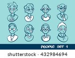 people flat icons collection....