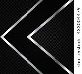 abstract background  metallic...   Shutterstock .eps vector #433004479