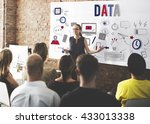 data digital online technology... | Shutterstock . vector #433013338