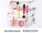 perfume  scented  perfume... | Shutterstock . vector #433015294