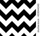 zig zag seamless design  black...   Shutterstock .eps vector #433044340