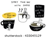 vector illustration   doodle...   Shutterstock .eps vector #433045129