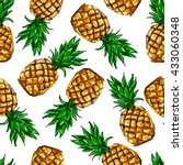 Pineapple Tropical Vector...