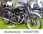 vincent black shadow motorcycle ... | Shutterstock . vector #433107190
