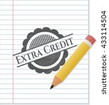 Extra Credit Emblem With Penci...