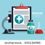 medical healthcare design  | Shutterstock .eps vector #433136980