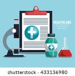 medical healthcare design  | Shutterstock .eps vector #433136980