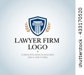 law firm  law office  lawyer... | Shutterstock .eps vector #433170520