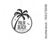 california beach t shirt vector ...   Shutterstock .eps vector #433173058