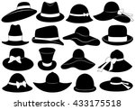 hats illustration isolated on... | Shutterstock .eps vector #433175518