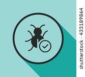 bug fixed icon. bug fixed sign
