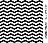 white and black chevron...   Shutterstock .eps vector #433196449